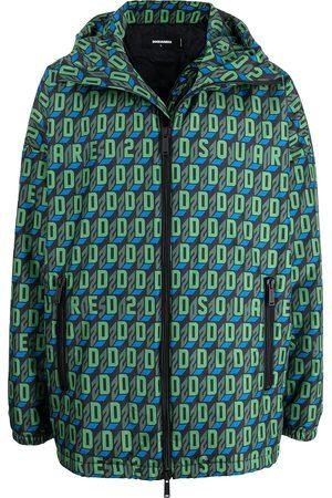 Dsquared2 Monogram-print sports jacket