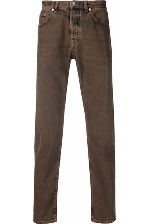 ELEVENTY Mid-rise cropped jeans