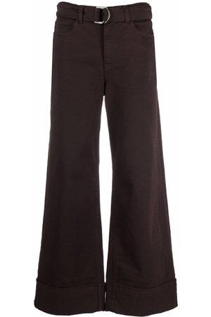 Eleventy Wide-leg trousers