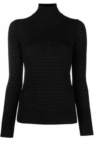 Eleventy Roll neck fitted jumper