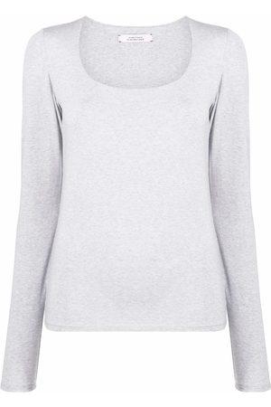 Dorothee Schumacher Women Sweatshirts - Scoop-neck sweatshirt - Grey