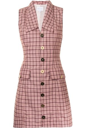 Alice McCall Candy Floss checked mini dress