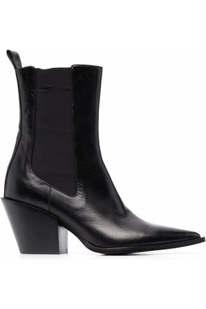 Dorothee Schumacher Walk The Lines pointed Chelsea boots