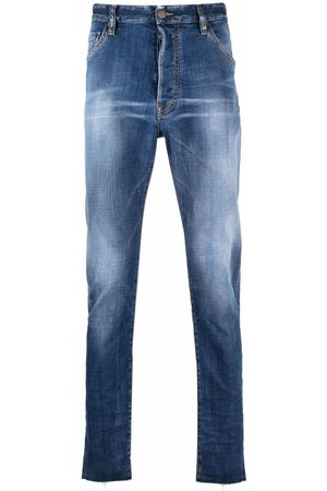 Dsquared2 Mid wash stretch-fit jeans