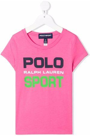 Ralph Lauren Girls T-shirts - Logo-print T-shirt