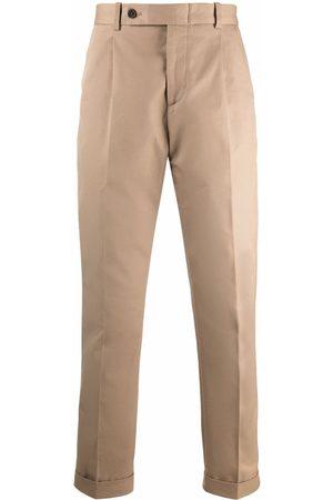 Alexander McQueen Men Formal Pants - High-waist tailored trousers - Neutrals