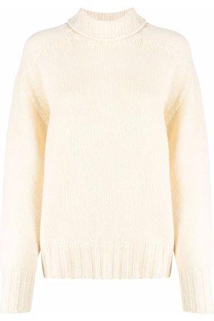 Jil Sander Roll-neck knitted jumper - Neutrals