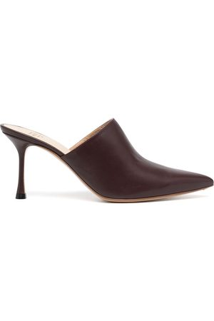 Francesco Russo Pointed-toe 75mm mules