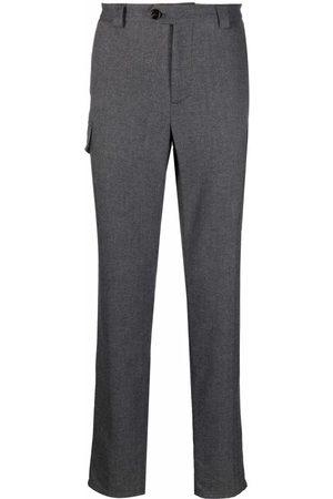 Brunello Cucinelli Slim-fit cargo trousers - Grey