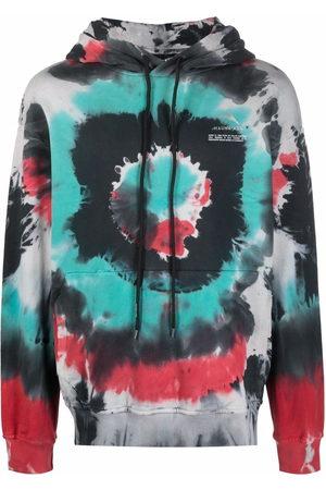 MAUNA KEA Tie-dye print hoodie - Grey
