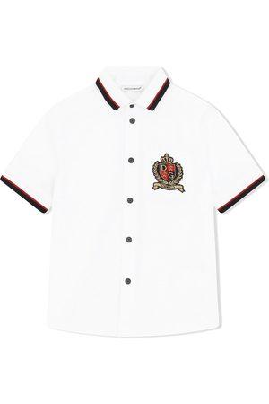 Dolce & Gabbana Logo-patch shortsleeved shirt
