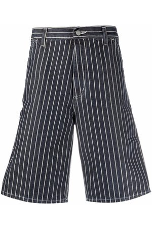 Carhartt Stripe-print bermuda shorts