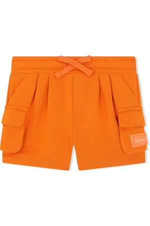 Dolce & Gabbana Kids Jersey cargo shorts