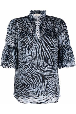 Michael Kors Zebra print blouse