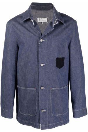 Maison Margiela Button-up denim shirt jacket