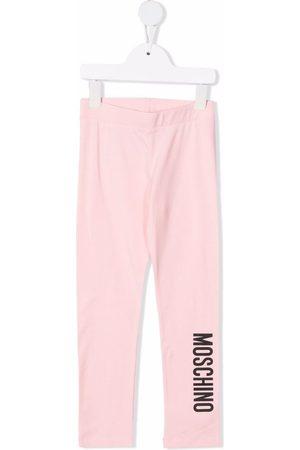 Moschino Girls Leggings - Logo-print leggings