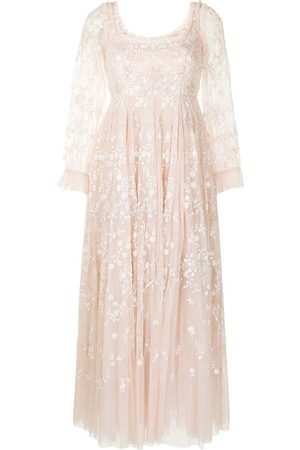 Needle & Thread Sweet Marie embroidered tulle gown