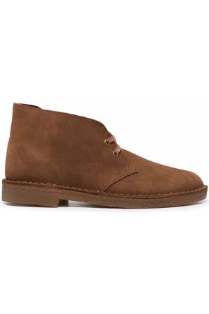 Clarks Lace-up suede boots