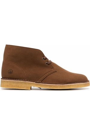 Clarks Suede lace-up boots