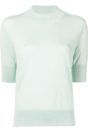 Jil Sander Short-sleeved cashmere-knit sweater
