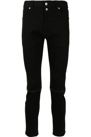 Undercoverism Zip-ankles slim jeans