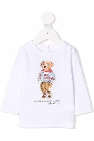 Ralph Lauren Kids Polo Shirts - Polo Bear print T-shirt