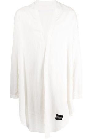Julius Draped robe shirt
