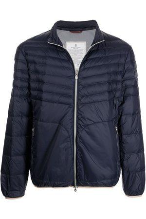 Brunello Cucinelli Men Puffer Jackets - High-neck zip-up padded jacket