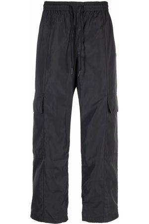 adidas Men Cargo Pants - Drawstring-waist cargo-pocket trousers