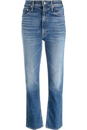 MOTHER Women High Waisted - High-waist straight leg jeans