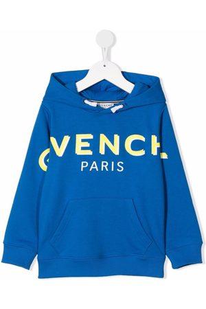 Givenchy Kids TEEN logo-print hoodie