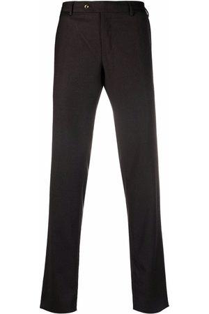 PT01 Men Skinny Pants - Slim-cut wool trousers - Grey