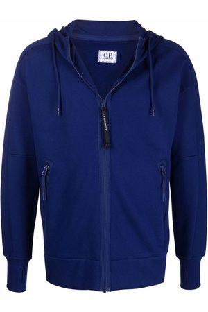 C.P. Company Zipped drawstring hoodie