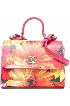Dolce & Gabbana Gerbera daisy-print tote bag