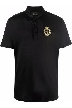 BILLIONAIRE Men Polo Shirts - Embroidered-logo cotton polo shirt