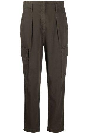 Luisa Cerano Women Cargo Pants - Straight cargo trousers