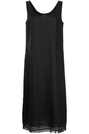THEORY Women Dresses - Linen frayed-hem dress