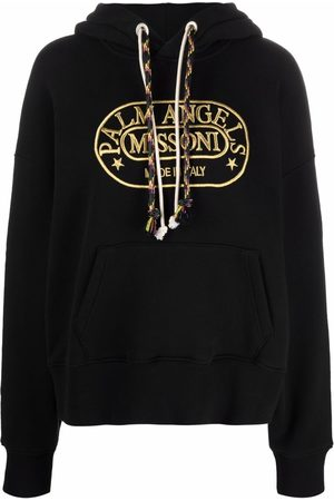 Palm Angels X Missoni logo-embroidered hoodie