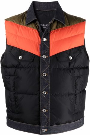 Dsquared2 Colour-block padded gilet