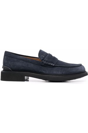 Tod's Men Loafers - Suede slip-on loafers