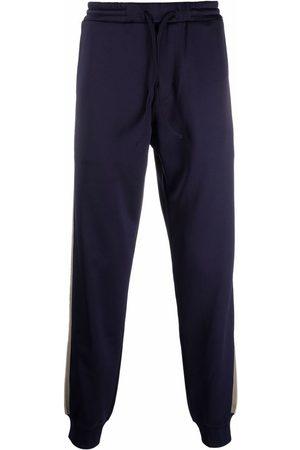 LANVIN Stripe-embellished track pants