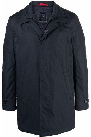 Fay Concealed parka coat