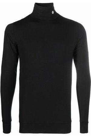 AMBUSH Logo-embroidered roll-neck jumper