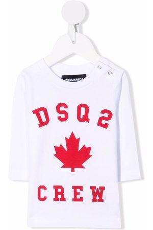 Dsquared2 Logo-print long-sleeved T-shirt