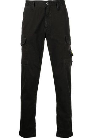 Stone Island Multiple-pocket straight-leg trousers