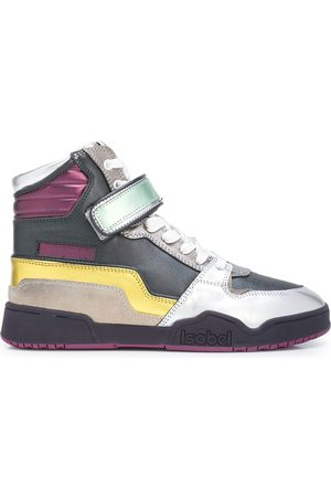 Isabel Marant Alsee touch-strap sneakers - Multicolour