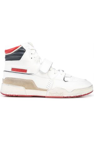 Isabel Marant Alsee leather touch-strap sneakers