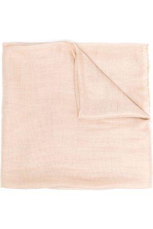 Fabiana Filippi Fringed modal-blend scarf - Neutrals