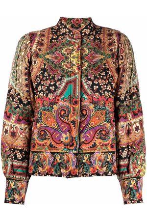Etro Women Bomber Jackets - Paisley bomber jacket