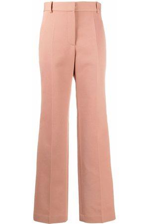 Victoria Beckham Tailored straight-leg trousers - Neutrals